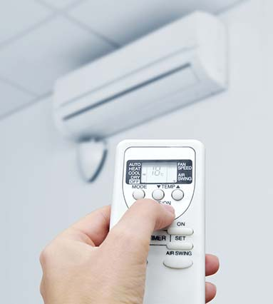 air conditioner and remote control